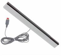 W-I-I Ricevitore per barra sensore di raggi infrarossi cablato a infrarossi per Nintendo per Wii U WiiU Remote