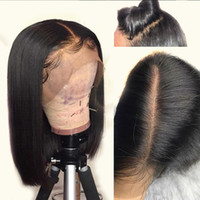 13x6 Deep Part Human Hair Lace Front Wigs With Baby Hair Sil...