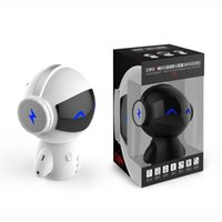 Newest DingDang Cute M10 portable Robot Bluetooth Speaker St...