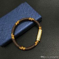 Pulseiras de couro pulseira jóias 17cm 19 cm 21cm mulheres homens 316L aço inoxidável pulseira vintage pulseiras presentes de natal