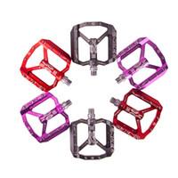 Ultraleve pedal da bicicleta todos CNC mtb DH XC pedal de mountain bike L7U material + DU rolamento pedais de alumínio