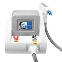 Portable 2000MJ 532nm 1064nm 1320nm Tatouage Pigments de tatouage Suppression Q Switch ND YAG Laser Beauty Machine Supprimer les tatouages à sourcils Poupée à visage noir