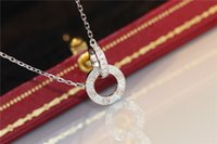 Designer Jewelry LOVE Ring Necklace Cubic zirconia Necklace ...