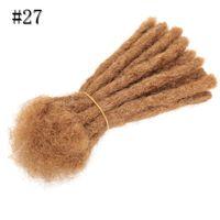 6-дюймовый оптом дреды волос наращивания волос 20 прядей синтетического дреда вязание крючком для женщин мужчин