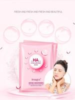 صور شعبية HA ترطيب الوجه قناع الماء المكثف الوجه ترطيب تقليص المسام الكورية التجميل قناع الوجه العناية بالبشرة