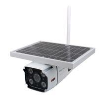 Scheda SIM 4G Telecamera solare wireless IP wireless 1080P HD Bullet Security Camera IR NOTTE VISION Solar Solar Ait Powered CCTV Surveillance Cam