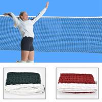 6.1mx0.75m Профессиональный спортивный тренинг Стандарт Badminton NET Открытый теннис Net Mesh волейбол чистый упражнение падение