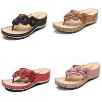 Tasarımcı Terlikler Moda Kadın Terlik Skid Yumuşak Alt Yaz Çiçek Sandalet Lüks Terlik Kadınlar Ayaklı Günlük Ayakkabılar Boyutu 35-43 Floplar