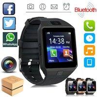 블루투스 카메라 시계 SIM TF 슬롯과 스마트 시계를 스마트 시계를 dz09 착용 할 수있는 장치 지능형 휴대 전화 스마트 워치