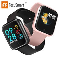 2019 Focusmart New P70 Smart Watch Full- Time Step Counter Al...