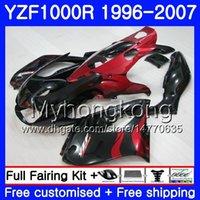 Corpo Rosso fiamma caldo Per YAMAHA Thunderace YZF1000R 96 97 98 99 00 01 238HM.18 YZF-1000R YZF 1000R 1996 1997 1998 1999 2000 2001 Kit carene
