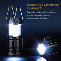Solar Powered lamps LED Camping Lanterns Rechargeable Portab...