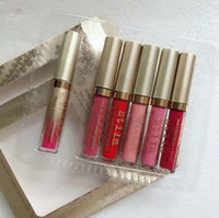 Nuovo Stila stare tutto il giorno Sparkle All Night Rossetto Holiday Set Kit Liquid 6pcs Lipgloss set DHL freeshippipng