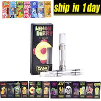 0.8ml Dank Vapes Patronen New Black Package Cereal Carts 1.0ml Keramikspule 510 Gewinde Dickölpatronen 54 Aromen ohne Öl at202