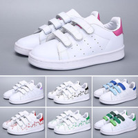 Adidas Superstar 2018 Kinder Superstar Schuhe Original White Gold Baby Kinder Superstars Sneakers Originals Super Star Mädchen Jungen Sport Kinder Schuhe 24-35