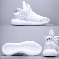 designer fashion da158 365c5 2019 Scarpe running di lusso da uomo 2019 Y-3 QASA RACER Hight Sneakers  traspirante