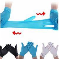 Einweg-Schutz Nitril-Handschuhe PVC-Latex Universal-Haushalt Garten Reinigung Heim Gummi Handschuhe S / M / L / XL LJJA4146