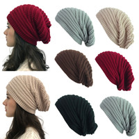 Cappello elastico lavorato a maglia elastico per donna Cappello da sci da viaggio caldo da donna casual Cappello da sci per esterno invernale da uomo LJJT1612