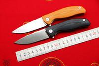 TIGEND F3 exterior aleta campismo rolamento faca dobrável D2 lâmina de aço punho G10 equipamento de pesca montanhismo EDC toolsTIGEND
