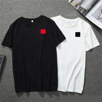 2020 nuevos hombre de las camisetas de América Europea populares pequeño corazón rojo impresión de camisetas de los hombres parejas de mujeres camiseta