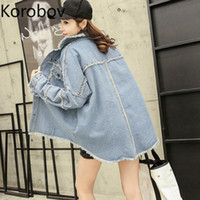 Korobov 2019 Autumn New Loose Casual Women Jackets High Stre...