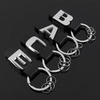 3D nouvelle voiture en cuir métal trousseau pour b Enz modèle de queue anneau clé emblème pour un M G B C E B A Classe Accessoires