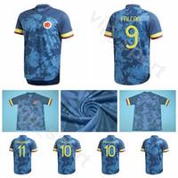 2020 Fussball Kolumbien 9 Falcao Jersey 19 Muriel 5 Barrio 6 Tessillo 3 Medina 2 Zapata 1 Ospina 12 Vargas Football Shirt Kits