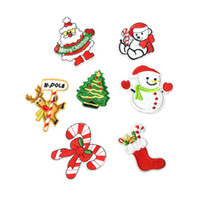 Santa Snowman Patched series embroidery cloth stickers compu...