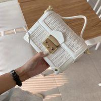 Sac de marque de marque sac à main de mode de mode PU Nouveau cuir brossage cuir pain sacs épaule poisson de luxe femmes femmes messenger sacs à main Thbbo
