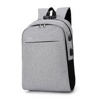 حقيبة ظهر للرجال والنساء على ظهره حقيبة سفر متعددة الوظائف تصميم حقيبة كمبيوتر محمول مضاد للسرقة ارتداء حقيبة الأعمال