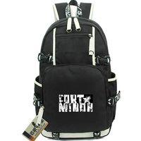 ارتفاع الظهر على ظهره فورت مينور اليوم حزمة موسيقى الراب حقيبة مدرسية الكمبيوتر packsack جودة حقيبة الظهر الرياضة المدرسية daypack في الهواء الطلق