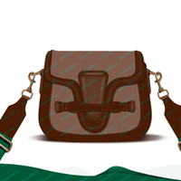 Çanta Çantalar Moda Çanta Deri Kadınlar Saddleback Çanta Çanta Omuz Çantası Tote Çanta Cüzdan Beyaz Kutu Toz Çanta