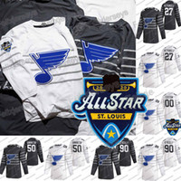 90 Ryan O'Reilly 2020 All Star St. Louis Blues 50 Binnington Alex Pietrangelo Vladimir Tarasenko David Perron Tyler Bozak Sammy Blais Jersey
