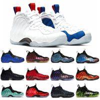 Penny Hardaway chaussures de basket-ball hommes Foam One vandalisé Paranorman Pourpre Camo Obsidienne Doernbecher Baskets De Sport Sneakers 7-13