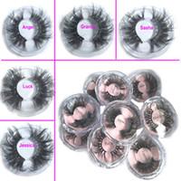 2020 Neueste 25MM 3D Mink Wimpern falsche Wimpern 100% Mink Wimpernverlängerung 5d Mink Lashes starke lange Dramatische Augen Lashes DHL FREE