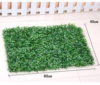 البلاستيك العشب الاصطناعي العشب حديقة الزخرفية العشب كاذبة الخضراء النباتات شرفة تزين زينة الجدار النباتي