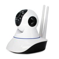 HD 720P Wireless PTZ IP-Kamera Wifi Night Vision IR-Sicherheitskameras Bewegungserkennungsunterstützung SD-Kartenaufnahme