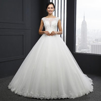2019 New Arrival Princess Wedding Dress Custom Made Sequins ...
