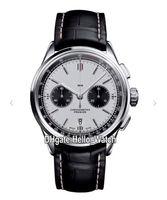 Nova Premier B01 Caso de Aço AB0118221G1P1 VK Quartzo Cronógrafo Mens relógio Cronômetro Branco Dial Dial Strap Watches Hello_Watch 6 Cor