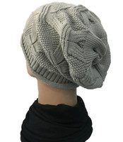 tuques baggy design de mode pour hommes, femmes sports de plein air chaud wrokout chapeaux de chapeau de hiphop crochet tordu noeud chapeau mou chaud bonnet acrylique souple