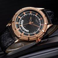 Femininos YAZOLE Relógios Moda Casual Men Watch homens de couro impermeáveis do relógio do calendário do negócio reloj hombre