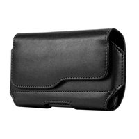 Universal Phone Pouch For iphonePhone 11 Pro Max X 8 7 6 6S Plus 5 5S SE 5C 4 4S Xr Xs Max Case Leather Cover Belt Clip Holster Bags