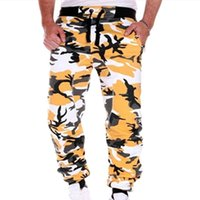 Pantalon Hommes Heflashor Mens Joggers Camouflage Santé de Sports Casual Camo Camo Full Longueur Fitness Jogging Pantalon Jogging Cargo