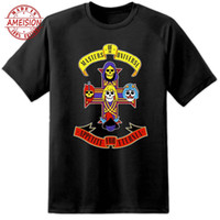 Mens Clothing He Man Guns N Roses Rock Band T Shirt Funny Mu...