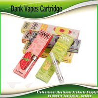 Dank Vapes Cartridge 1. 0ml 1 Gram Ceramic Coil Tank Vape Car...