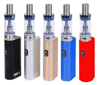 Jomo Lite 40 Starter Kit Vape Kit JomoTech 40w Box Mod Mini Bulit-in 2200mAh batteria vaporizzatore kit 3ml Lite del flusso d'aria del serbatoio E Cigs vapori DHL