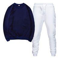 Quadri da uomo di alta qualità Trackswear sportswear maschili da jogging da uomo con cappuccio maglioni primavera autunno casual sportswear set abbigliamento