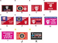 Terylene Trump Flag Kampagne Flaggen Digitale Drucke Banner Color Durable Qualitätswaren Sun Proof Helle Farben der heißen Verkaufs 15cg D2
