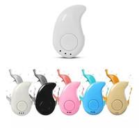 Bluetooth 4.1 para auriculares S530 Mini para auriculares inalámbricos estéreo teléfono Luz de Stealth auriculares del receptor ergonómico Con micro con caja al por menor