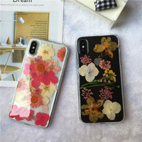 REAL Dried Flowers Transparent Soft TPU 3D Case For iPhone X...